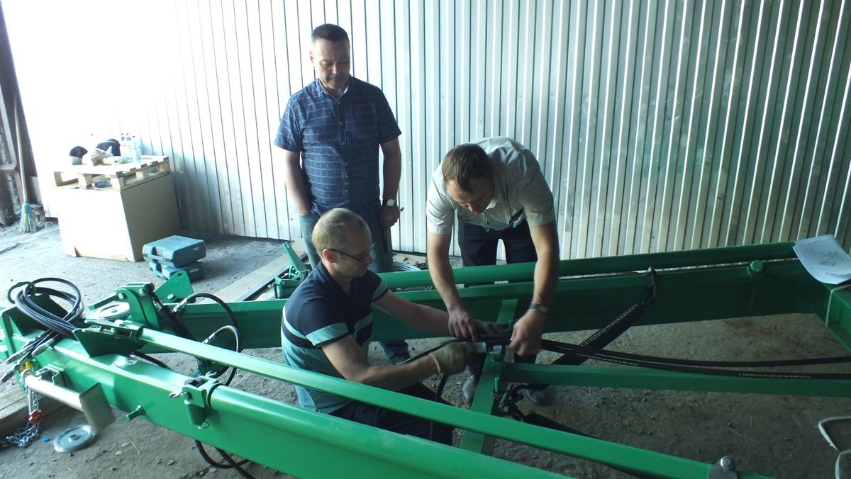 Знания в Академии Кузбасса начинаются с сельхозмашин ООО «Агро»